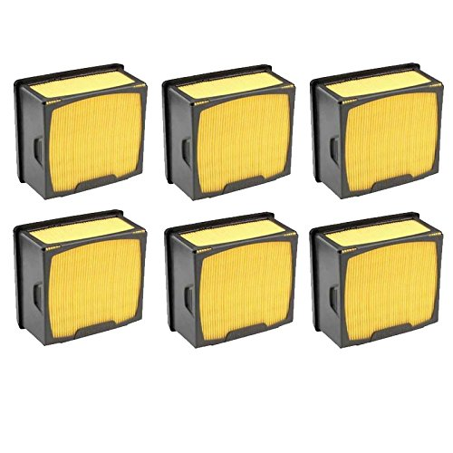 Set of 6 Husqvarna OEM Air Filter 574362301 574362302 for K760 Power Cutter (Husqvarna K760 Air Filter compare prices)