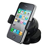 360 Degree Swivel Car Windshield Mount Holder Bracket for iPhone 4/4S, Samsung Galaxy, Ther PDA and Smart Mobile Phones