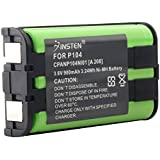 eForCity Compatible Ni-MH Battery for Panasonic HHR-P104 Cordless Phone