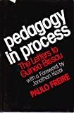 Pedagogy in Process (0904613860) by Freire, Paulo