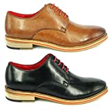 Justin Reece D200-1 Mens Leather Matt Shoes