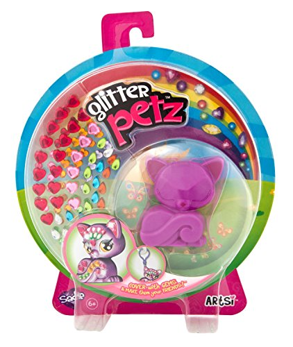 The Orb Factory Glitter Petz Sadie Kitten