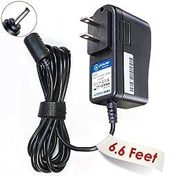 T-Power 5V DC (6.6 Ft Long Cord) Ac Dc Adapter for Foscam Wireless Wired Ip / VideoSecu IPP105B / Video Surveillance Security Camera Fits FI9821W FI8910W FI8916W (Saw-0502000) Fi8918w Fi8908w