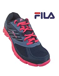 Fila Men's Sports Shoe 1SR20094007 Black D.Silver S.Red-SIZE-7 UK