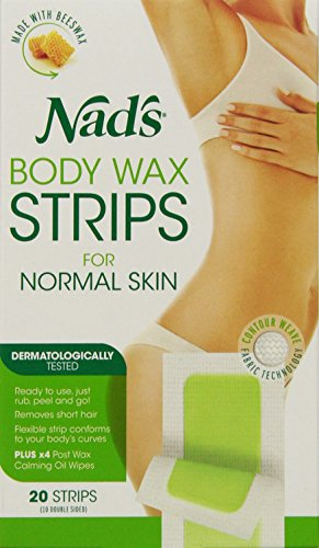 Nad's Body Wax Strips, 20 Count (Hair Removal Legs compare prices)
