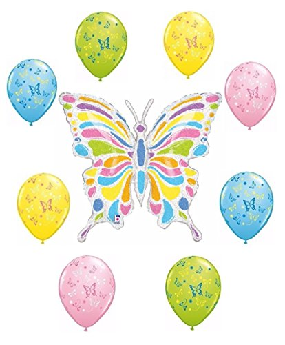 Butterfly balloon decoration kit arts entertainment party for Balloon decoration kits