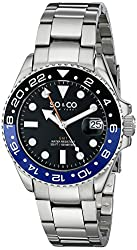 SO&CO New York Men's 5021.3 Yacht Club Stainless Steel Watch