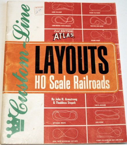 ATLAS CUSTOM LINE LAYOUTS FOR HO Scale Railroads