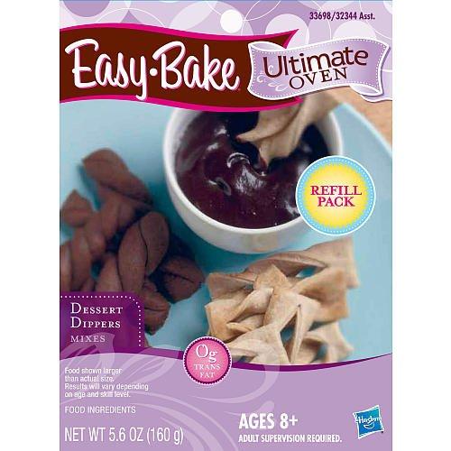Playskool Easybake Dessert Dippers Mix Easy-Bake Ultimate Oven Refill Pack
