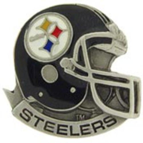 "NFL Pittsburgh Steelers Helmet Pin 1"" at Amazon.com"