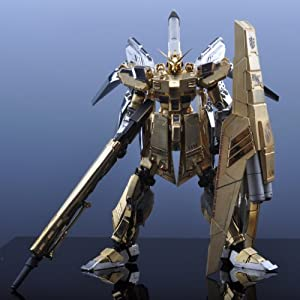 A Gundam Is Made From Metal Rx-93-ʋ2 HWS Hi-nu Gundam- Mg