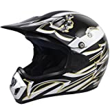 Smallwise Trading Bike Quad Off Road Motocross Pit Motorcycle Motorbike Crash Helmet (L)
