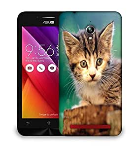Snoogg Poor Kitty Designer Protective Phone Back Case Cover For Asus Zenfone GO