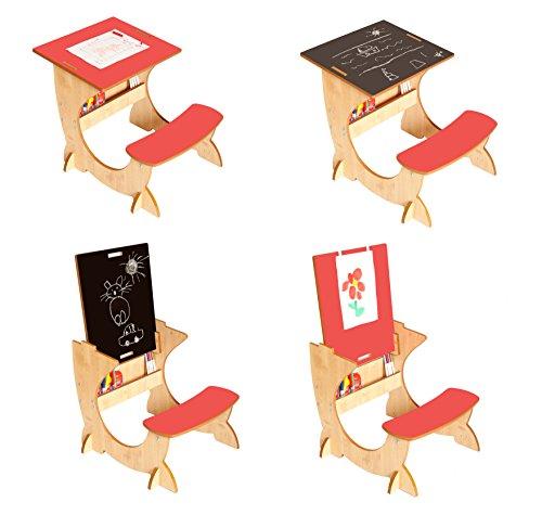 Little helper artstation ensemble 4 en 1 bureau tableau for Tableau noir pour enfant