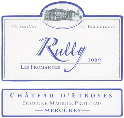 2009 Domaine Maurice Protheau - Chateau D'Etroyes - Les Fromanges - Rully - Cote Chalonnaise Chardonnay 375 Ml