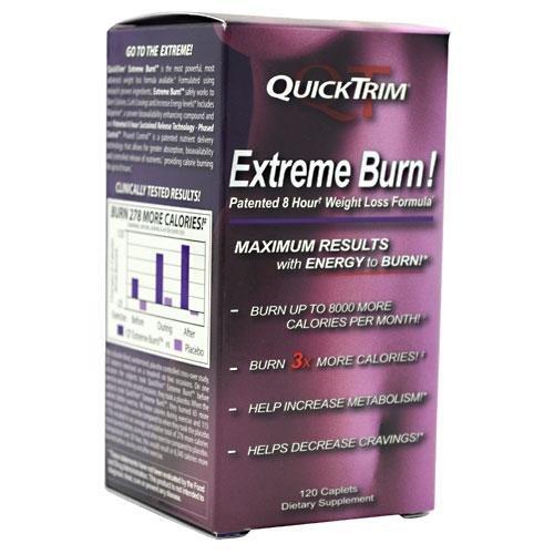Quicktrim Extreme Burn, 120 Caplets