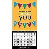 Quotable Happy 2014 Magnetic Mini Calendar