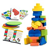 51i7k7zBZ4L. SL160  Melissa and Doug Block Balancing Games
