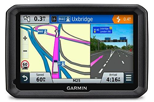 Garmin dezl 570LMT - GPS Poids Lourds Écran 5 Pouces - Appel Mains Libres et Commande Vocale - Info Trafic et Carte (45 Pays) Gratuits à Vie