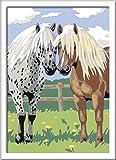 Ravensburger Malen nach Zahlen 28566 - Glückliche Pferde, Malset hergestellt von Ravensburger Spieleverlag