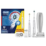 Image of Oral-B Smart Series 6500 Electric Rechargeable Toothbrush Powered by Braun - Two Handle Pack