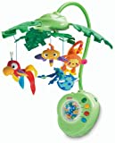 Fisher-Price Rainforest Peek-A-Boo Leaves Musical Mobile thumbnail