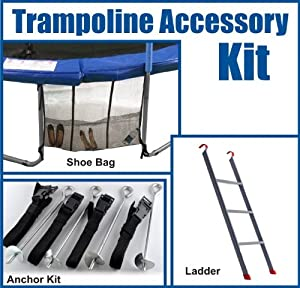 Amazon Com Upper Bounce Trampoline Accessory Kit