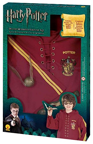 Deluxe Quidditch Set Costume Kit - Medium (Harry Potter Quidditch Costume Kit)