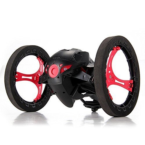 SainSmart Jr. Smart Bounce Jump Stunt Car with Flexible Wheels (Black) (Cool Circuits Jr compare prices)