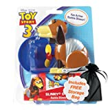 Disney Pixar Toy Story Bubble Blower Slinky Dog with Free Storage Bag