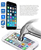 "Iphone 6 Screen Protector Hot Spot® Crystal Clear Premium Tempered Glass Drop-proof Screen Protector for Iphone 6 Verizon, Sprint, T-mobile, At&T (4.7"")"