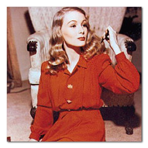 Amazon.com - Veronica Lake Color Matte Photograph - 12x12 Inches -