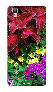 MBC(HP) kewin back cover for OPPO F1 727 Multicolor Leaves & Flower
