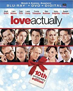 Love Actually - 10th Anniversary Edition (Blu-ray + DVD + Digital Copy + UltraViolet)