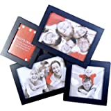 OM Arts Wooden Collage Photo Frame Sweet Long Lasting Memories (23 Cm X 24 Cm X 2.5 Cm, 123743)