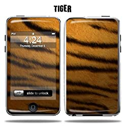 Mightyskins Protective Vinyl Skin Decal Cover for Apple iPod Touch 2G 3G 2nd 3rd Generation 8GB 16GB 32GB mp3 player wrap sticker skins - Tiger