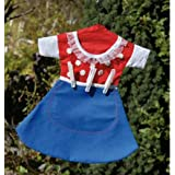 Laundry - Clothes Clothes Peg Bag - Pouch in cute Skirt Design * comes with 50 white pegs *by Express