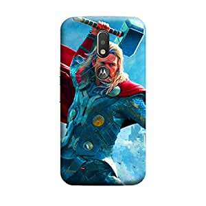iCover Premium Printed Mobile Back Case Cover With Full protection For Moto G4 Plus (Designer Case)
