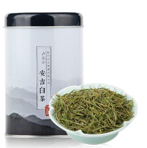 2014 New A-Class Lu Zheng Hao Handmade Anji Bai Cha White Tea Green Tea 120G