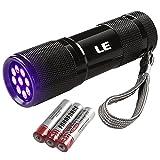 LE Ultraviolett LED UV Taschenlampe mit 9 LEDs 395nm