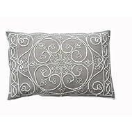 Ultra-Snob Udine Cotton Twill Cushion Natural