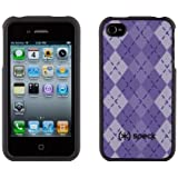 Speck Fitted Case for Apple iPhone 4 - Purple Argyle