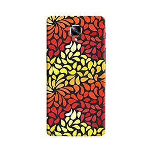 ColourCrust OnePlus 3 Mobile Phone Back Cover With Pattern Style - Durable Matte Finish Hard Plastic Slim Case