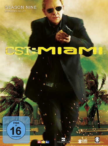 CSI: Miami - Season 9.1 [3 DVDs]