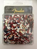Fender 351 Classic Celluloid Guitar Pick Confetti Medium Pack Of 144 (1 Gross) Imported From USA