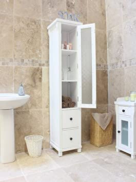 Hartford Painted furniture Closed Bathroom Unit Tall