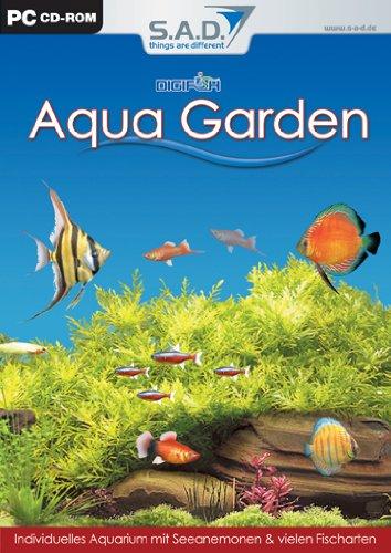 SAD Digifish Aqua Garden Multimonitor Bildschirmschoner 35 Suesswasserfische Lebensechte 3D Bewegung MP3 WMA Wiedergabe