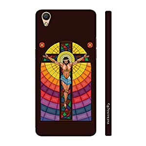 Enthopia Designer Hardshell Case Pray to Jesus Back Cover for Oppo R9