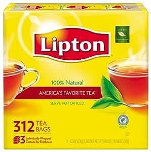 Lipton Black Tea, 312 ct