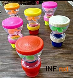Infinxt Kitchen & Bathroom Tap Shower Sprinkler Shower Head (Set Of 3)